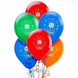 10 X 12 THOMAS THE TANK ENGINE Colour Latex Printed Balloons Birthday Party