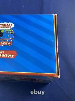 2006 Learning Curve Thomas Train Wooden Mr Jollys Chocolate Factory! NEW