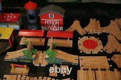 240+ Huge Lot Wooden Thomas & Friends / Brio Train Track & Accessories
