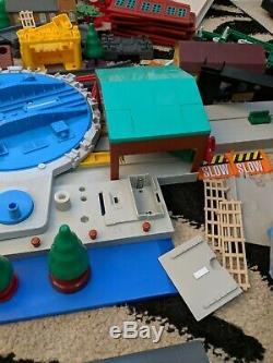 400 + Pieces Thomas The Tank Engine. Knapford Diecast Books Ertl Tomy Gulliana
