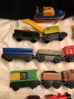 51 Thomas The Tank Engine Train Wooden Lot 46 From 2000 5 From 1999-2003 Sodor