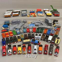 75+ Thomas the Train Trackmaster Lot 17 Motorized + 58 Non-Motorized + 50 Tracks