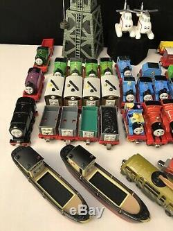 78PC Thomas the Train & Friends Diecast LOT Magnetic Engines Cranky Take & Play