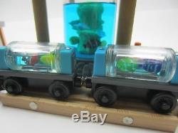 Aquarium Fish Food Factory Clown Water set Thomas engine wooden railway train
