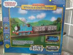 Bachmann 00739 Thomas the tank engine Whistle and Chuff Trainset OO scale BNIB