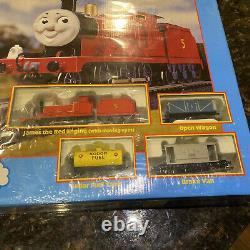 Bachmann Thomas The Tank Engine James Freight Set 00656 Sir Topham Hatt Edition