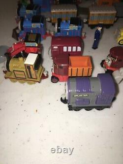 Bandai 2002/2004 Rare Lot Of 50 Thomas The Tank Engine Minitures Plastic. Rolls