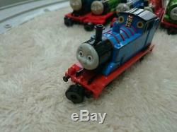 Bandai Thomas and Friends Tank Engine Collection Diesel10 Lady etc Rail Set Used