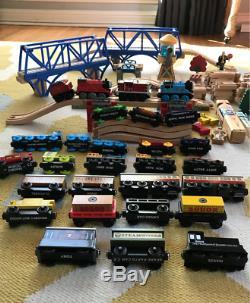 Beautiful Thomas The Train & Friends Wood Track Set 3 POWERED Tank Engine Cranky