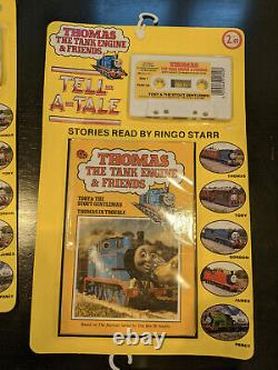 Complete Lot Thomas the Tank Engine & Friends Tell-a-Tale Ladybird Ringo Starr
