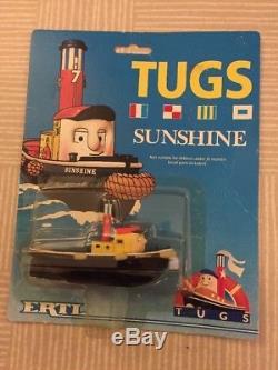 ERTL TUGS SUNSHINE Thomas The Tank Engine No. 1504 Boxed, Very RARE LOT 1