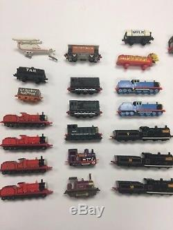 Ertl Thomas the Tank Engine Diecast Trains & Other Vehicles, Lot Of 50