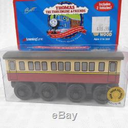 Express Coaches Thomas The Tank Engine Wooden Railway 1998 Learning Curve New