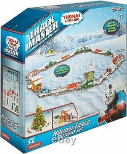 Fisher-Price Thomas & Friends Track Master, Holiday Cargo Delivery Set