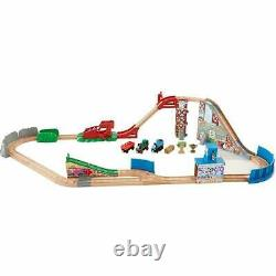 Fisher-Price Thomas & Friends Wooden Railway Race Day Relay Set