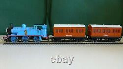 HORNBY R9287 THOMAS THE TANK ENGINE DCC Fitted (runs on dc too)+Annie & Clarabel