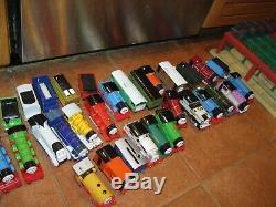 HUGE LOT OF 63 THOMAS THE TANK ENGINE & FRIENDS Trains Tracks Station