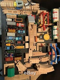 HUGE Lot Of Tracks/Accessories Thomas and Friends Train Wooden 100+ Pieces EUC