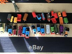 HUGE Lot of Thomas and Friends Thomas the Train Trackmaster Track Engine Sets