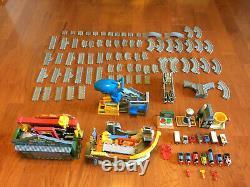 HUGE Thomas & Friends Take-n-Play LOT Playset Train Tracks Sodor Shipping Shark