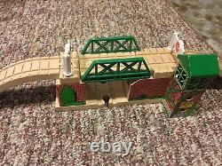 HUGE amount of Thomas the Tank Engine wooden trains, tracks and buildings LOT