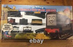 Hornby Vintage 1986 Thomas The Tank Engine Devious Diesel Train Set VERY RARE