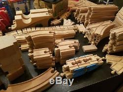 Huge Lot Of Thomas The Tank Engine & Friends Roundhouse, Bridge, Cranky, Hugh