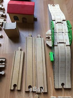 Job Lot Of Mixed Wooden Train Set Brio Thomas The Tank Engine Chad Valley Sainsb