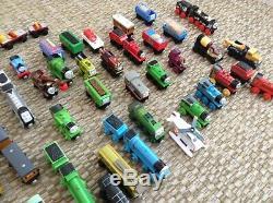 LARGE LOT Thomas The Train Toys Tank Engines, Cars, Tracks, Buildings, etc