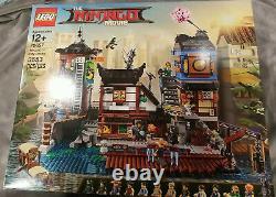 LEGO Ninjago City Docks 70657 NIB Cole Lloyd Modular Factory Sealed Retired HTF