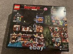 LEGO Ninjago City Docks 70657 NIB Modular Factory Sealed Retired HTF