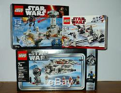 LEGO Star Wars 75138 HOTH Attack 8084 Snowtrooper Battle Pack 20th sealed 75259
