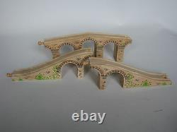 Large Wooden Viaduct, Wooden Train Track (Brio Thomas ELC bridge) NEW
