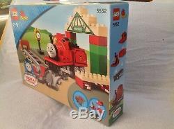 Lego Duplo 5552 Thomas The Tank Engine James at Knapford Station BNIB