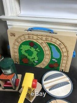 Lot Of 100 Vintage Thomas The Train and Friends Wooden & Die cast & Accessories