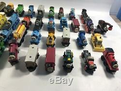 Lot Of 68 Thomas The Train Wooden Railways & Metal Diecast Trains & Vehicles