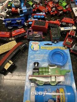 Lot of 120 Thomas The Train Tank Engine Plastic & Diecast RARE Vintage