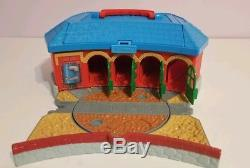 Lot of 150 Piece Thomas The Tank Engine Train And Wooden Track Mixed Sets
