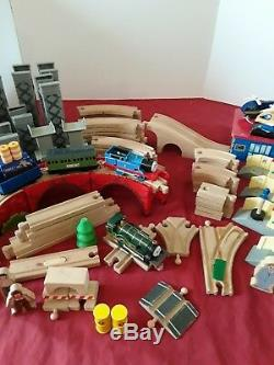 Lot of 168 Pcs Thomas The Tank Engine Train Wooden Track Ultimate Set FAST SHIP