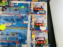 Lot of 22 Thomas & Friends Wooden Railway Sets Engines & More Rare Collectibles