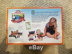 NIB & RARE 1998 Come Out, Henry Thomas the Tank Engine & Friends Wooden Railway