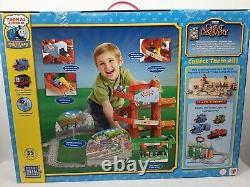 NIB Thomas & Friends Take Along Morgans Mine Adventure Set 35 Piece Train Set