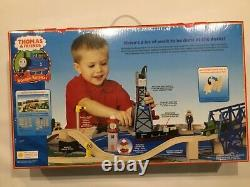 New Thomas Wooden Railway Down By The Docks Set Lc99533 Retired