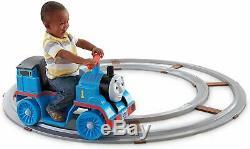 Power Wheels Thomas the Train Thomas with Track Toddler Toys Train Ride Vehicle