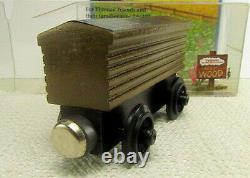 RARE NIB STORED 25yrs 1993 v2 Thomas Wooden Railway TROUBLESOME BRAKEVAN $510