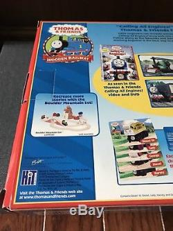 RARE Retired Thomas Wooden Railway Calling All Engines Lady Harvey New In Box