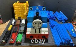 RARE TOMY Giant Set Thomas & Friends Tank Engine Tomica World #7404 Complete EUC
