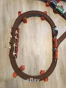 RARE Thomas Train Misty Island Deluxe Set Motorized Railway Trackmaster Shake
