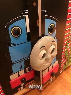 RARE Thomas Train Tank Engine Wooden Toy Locker Storage Furniture