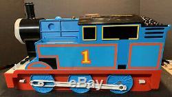 RARE Vintage 1997 TOMY Giant Set Thomas & Friends Tank Engine Storage Tunnel EUC